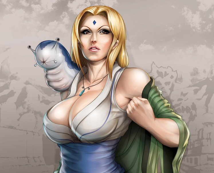 naruto female tsunade naked