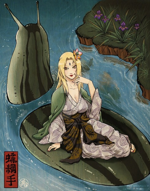 Slug Princess Tsunade by Orcagirl2001