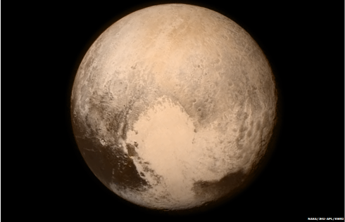 Pluto (Photo from NASA's New Horizons mission)