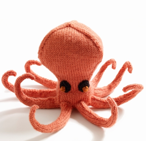 Ollie the Octopus (Lion Brand® Vanna's Choice® Baby Pattern)