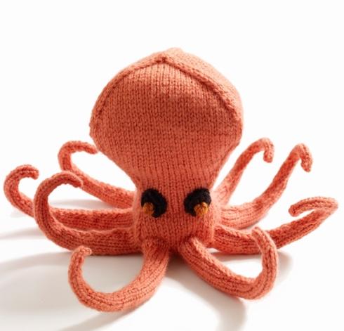 Ollie the Octopus (Lion Brand® Vanna's Choice® Baby Pattern)