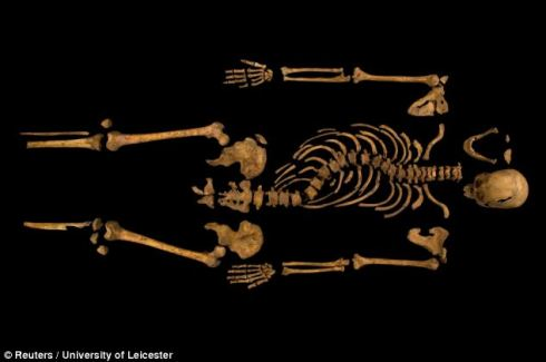 A photographic portrait of Richard III ca. present