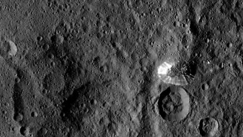 The Mountain on Ceres (Dawn Space Probe, NASA)