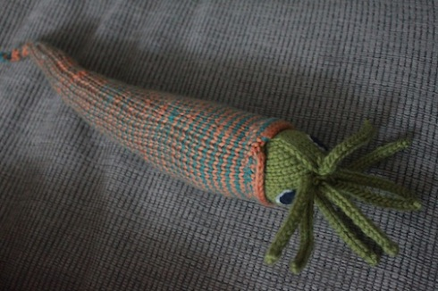 An exceptionally pretty nautiloid (by Chantal)