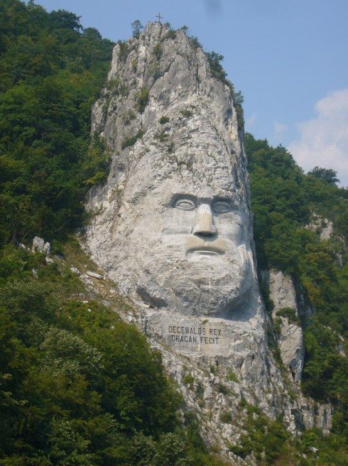 The-Statue-of-Decebalus-Romania