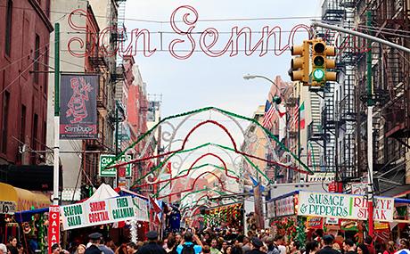 New York's San Gennaro Festival (Photo: Joe Buglewicz)