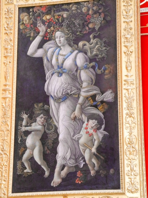 Allegory of Autumn (Workshop of Boticelli, ca. late 15th century, oil on canvas)