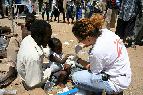 By the way, Médecins Sans Frontières is a good organization