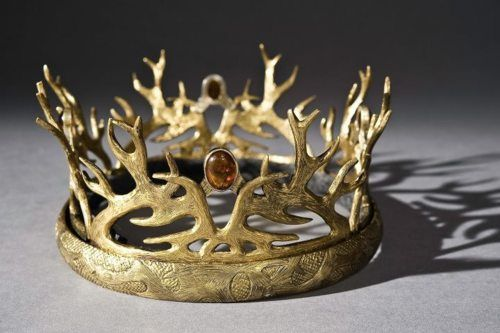 "I feel like this prop crown from ""A Game of Thrones"" should count"