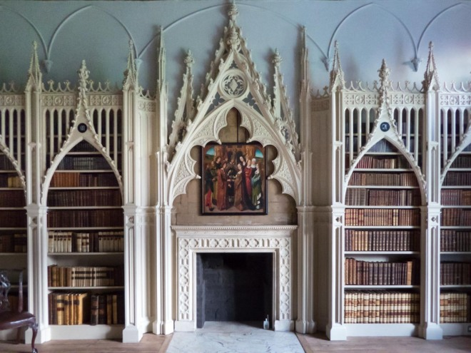 strawberry-hill-library