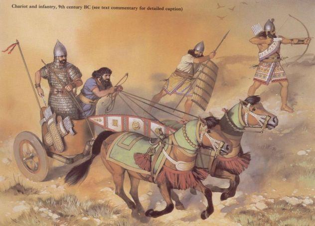 Neo-Assyrian Shock Troops