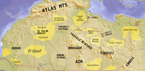 Saharan_topographic_elements_map
