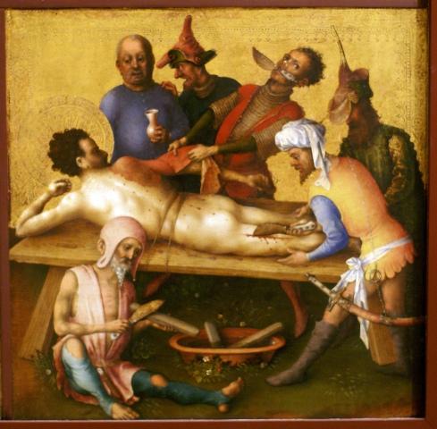 Martyrdom of St. Bartholomew (Stefan Lochner, 1435)