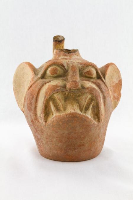 Moche Vessel (Early Intermediate period) Bat demon