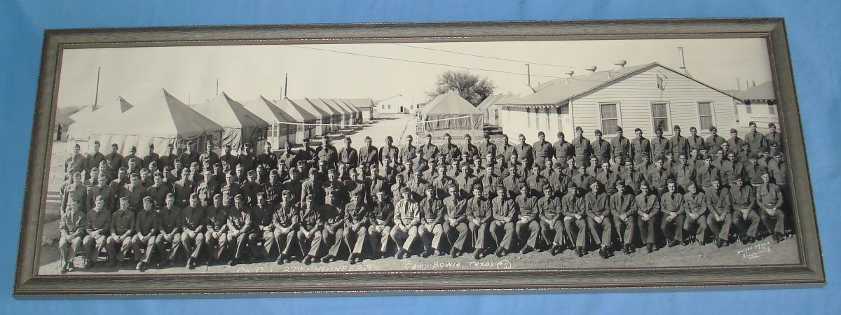 CAMP_BOWIE_TEXAS_MARCH_16_1942_US_ARMY_COMPANY_C_37TH_ENGINEERS_PANORAMIC_PHOTO.JPG