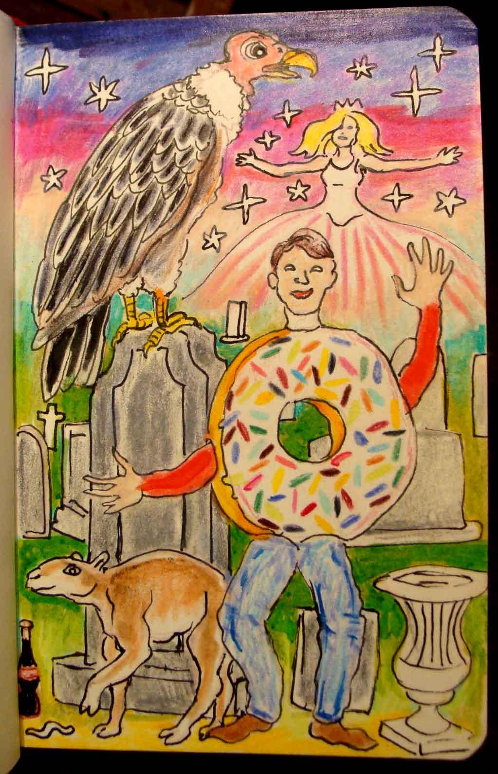 cemetery donut