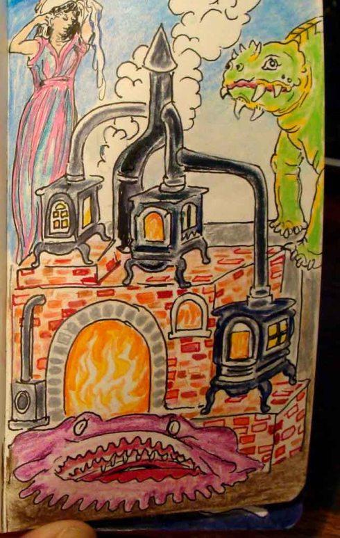 furnace edifice