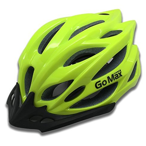 GoMax-Aero-Adult-Safety-Helmet-Adjustable-Road-Cycling-Mountain-Bike-Bicycle-Helmet-Ultralight-Inner-Padding-Chin-Protector-and-visor-w-Adjust-Dial-also-for-Kids-12-0