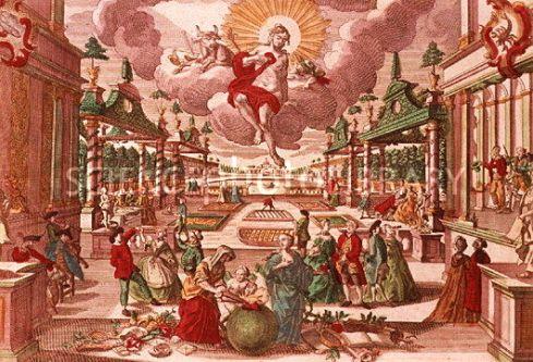 Illustration of Venus, goddess of love and beauty