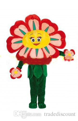 hot-new-custom-made-adult-size-high-quality-red-flower-mascot-costumes-cartoon-apparel-free-shipping
