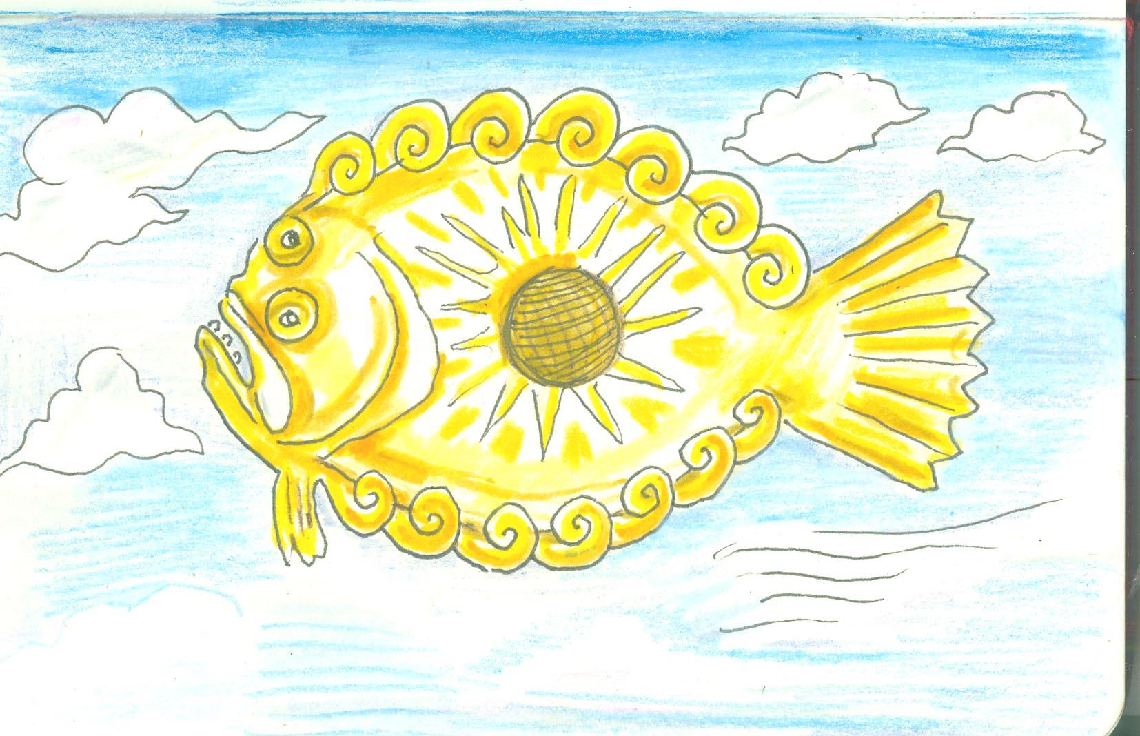 Partial Eclipse Flounder