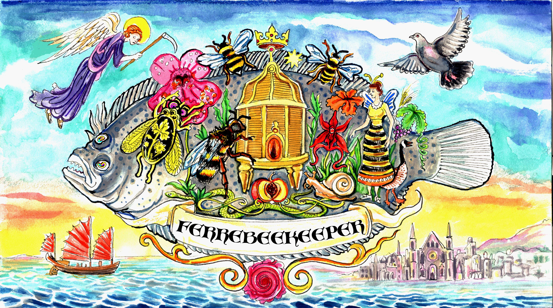 Flounder Ferrebeekeeper Logo Final