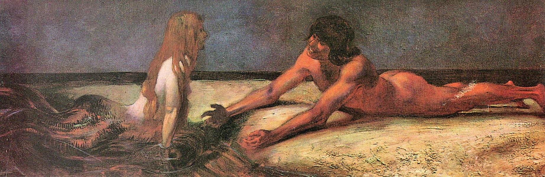 Mermaid by Franz von Stuck