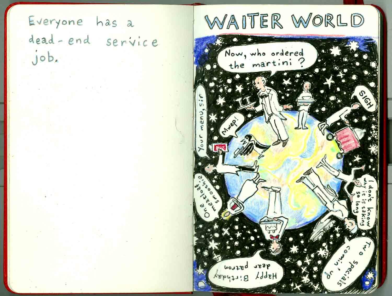 waiter world