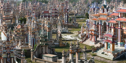 The-colorful-An-Bang-cemetery-just-outside-Hue
