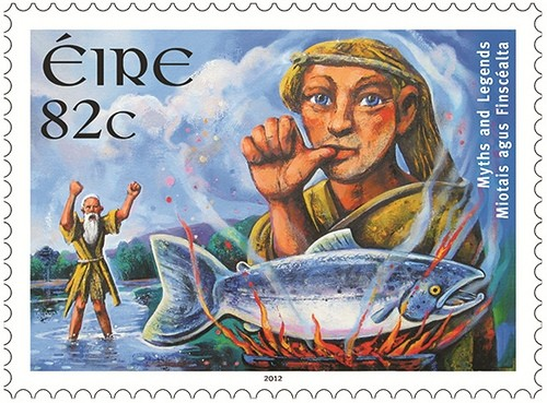 Salmon-of-Knowledge-Irish-Stamp-from-An-Post