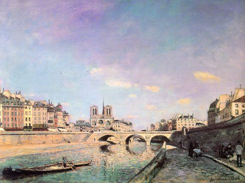 The-Seine-and-Notre-Dame-in-Paris-Johann-Jongkind