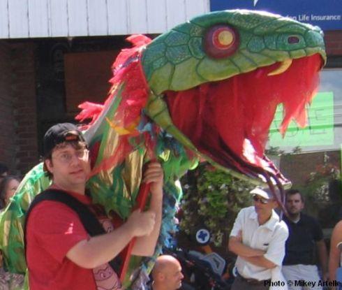 PuppetsUp Parade 2013