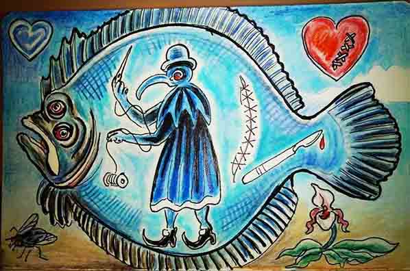 Plague Doctor Flounder